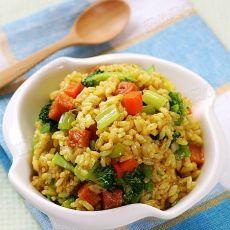 蔬菜咖喱炒饭