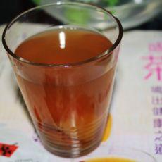 酸酸甜甜―杏干雪梨茶