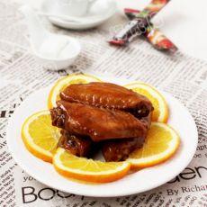 橙香煎鸡翅