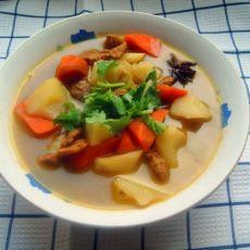 猪肉炖土豆胡萝卜