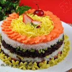 创意米饭蛋糕
