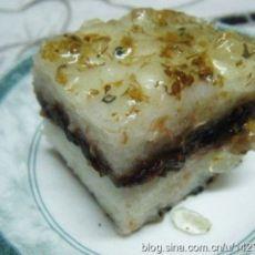 桂花豆沙糯米糕