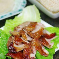 皮脆肉嫩的脆皮烤鸭