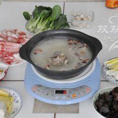 猪骨汤底火锅的做法
