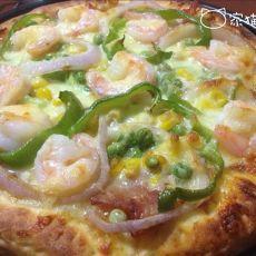 海陆至尊披萨(自制披萨酱)
