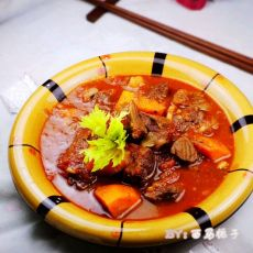 鲜香浓稠的西红柿牛腩的做法