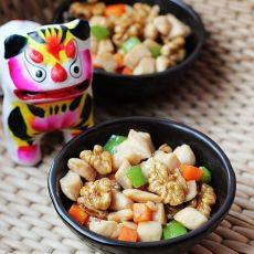 桃仁鸡丁―美味补脑小食