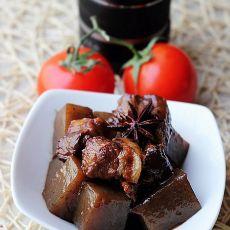 魔芋红烧肉―边吃肉边减肥