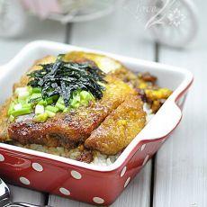 日式猪排盖饭—妈妈菜