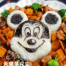 米奇红烩牛肉饭
