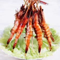 黑椒烤虾的做法