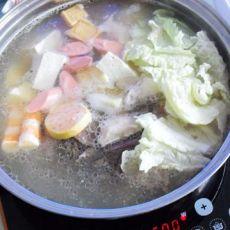 营养骨汤火锅的做法