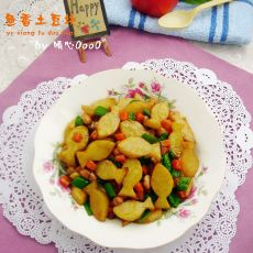 鱼香土豆块的做法