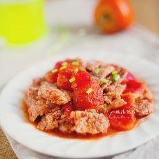 番茄肉片的做法