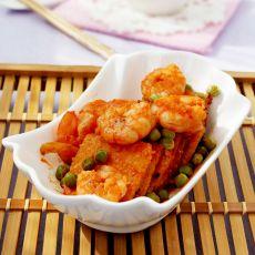 番茄虾仁锅巴的做法步骤