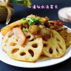 回锅肉藕片