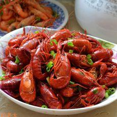 香辣豆豉炒龙虾