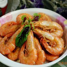 洋葱海麻虾的做法