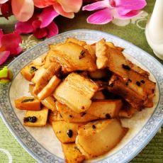 豆干回锅肉的做法