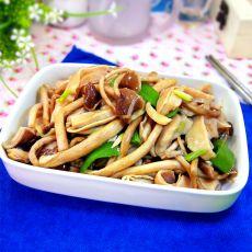 茶树菇炒猪肚