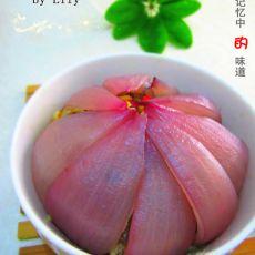洋葱蒸鱼的做法