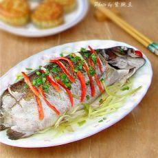 清蒸金鳟鱼的做法