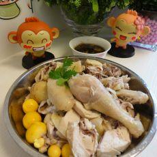 姜蓉白切鸡的做法