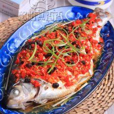 清蒸剁椒鱼的做法