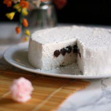 红豆沙蒸米糕