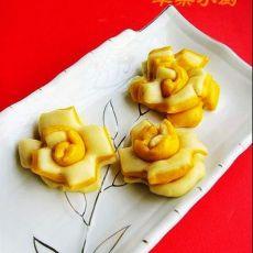 金银花朵馒头