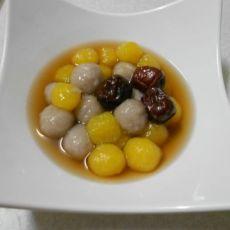 地瓜芋圆的做法