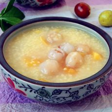 红薯桂圆小米粥