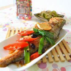 豆豉煮黄鱼