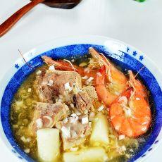 山药羊排汤