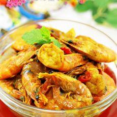 泰式咖哩虾