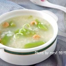 海米丝瓜粥的做法