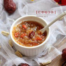 红枣蜂蜜柚子茶