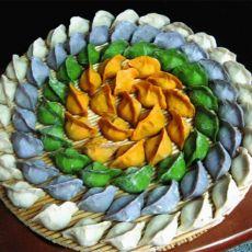 三菌彩色饺子