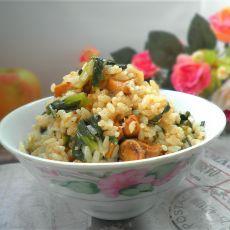 青菜鸡肉焖饭