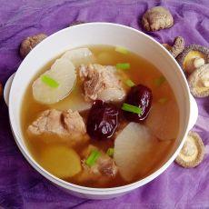 红枣萝卜龙骨汤