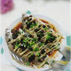 豆豉蒸罗非鱼的做法