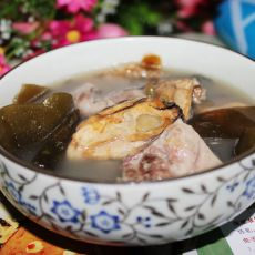 蚝豉海带猪骨汤