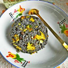香炒黑豆饭