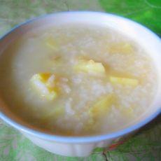 地瓜二米粥的做法