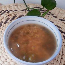 消暑大米绿豆汤的做法