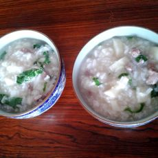 淮山牛肉粥