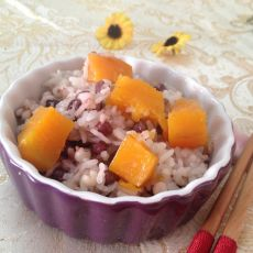 红豆薏米红薯饭