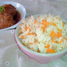 肉末胡萝卜饭