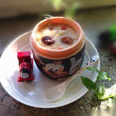 小米红薯桂圆粥