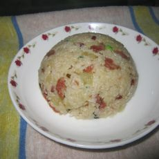 腊味土豆焖饭